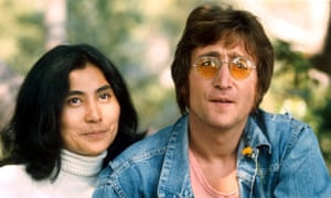 'Not John anymore' … John Lennon with Yoko Ono in 1971.