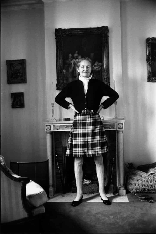 Nancy Mitford in 1970.