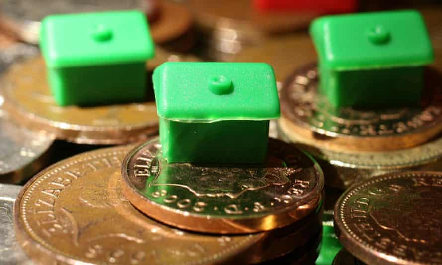 Monopoly houses on UK coins
