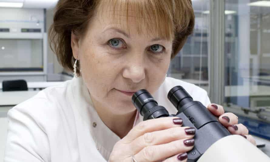 Forensic scientist Angela Gallop.