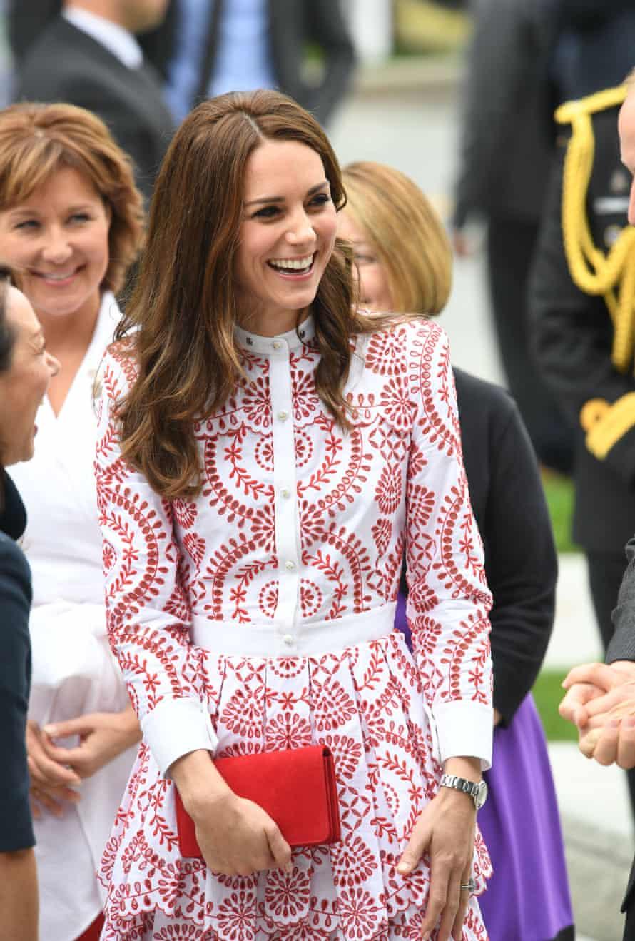 The Duchess of Cambridge in Alexander McQueen.