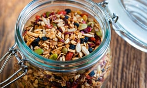 Granola with goji berries: no better than any other fruit.