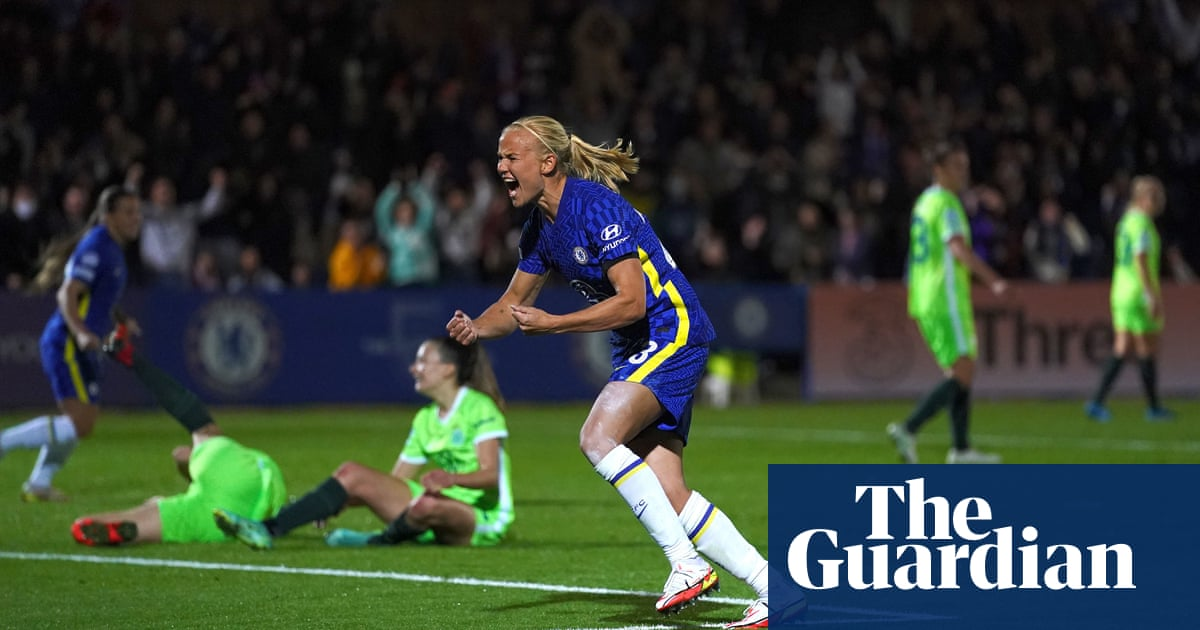 Late Harder strike denies Wolfsburg and snatches point for Chelsea