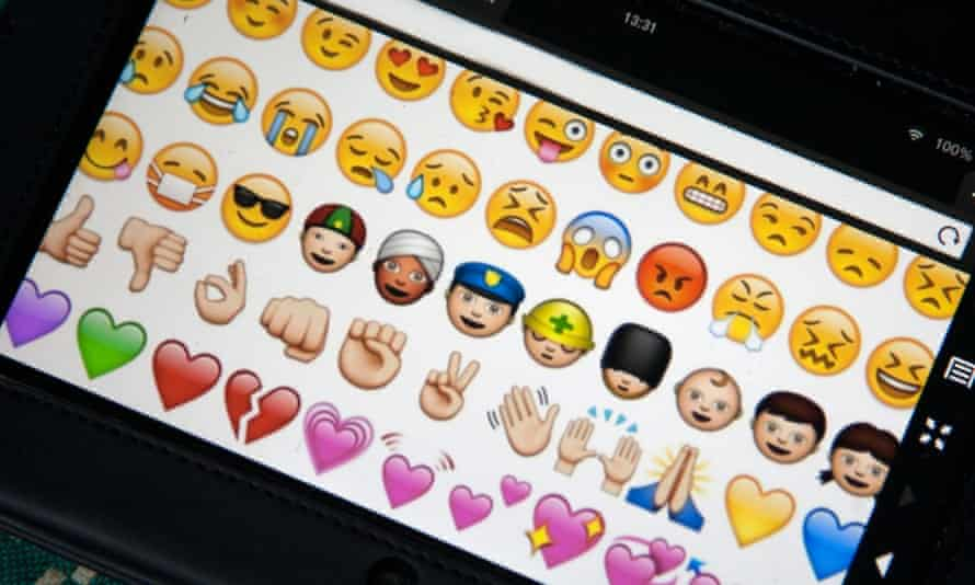Emoji are used in 4.6% of all typing sessions, Swiftkey found