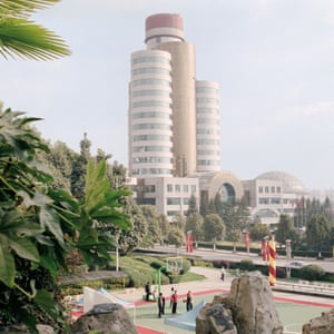 Kunming, China. The headquarters of the Kunming Tobacco Cigarette Factory
