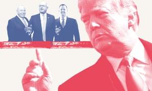 Trump and three of his ambassadors