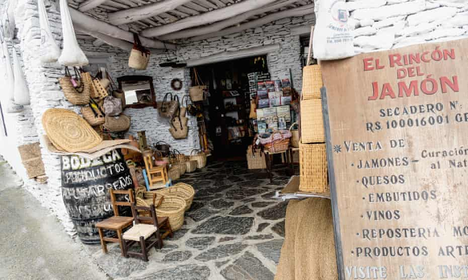 Traditional shop, La Alpujarra; Capileira, Granada