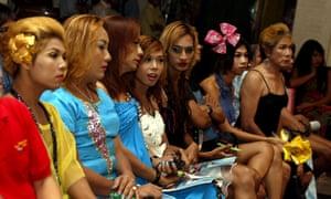 Transgender women in Myanmar