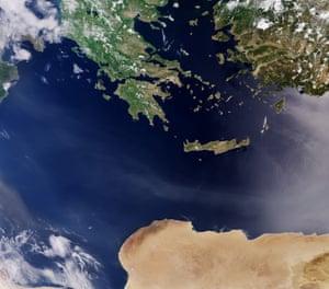 Greece, Turkey and Libya