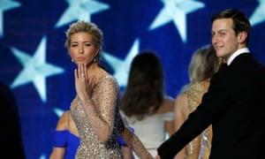 Ivanka Trump, left, and Jared Kushner.