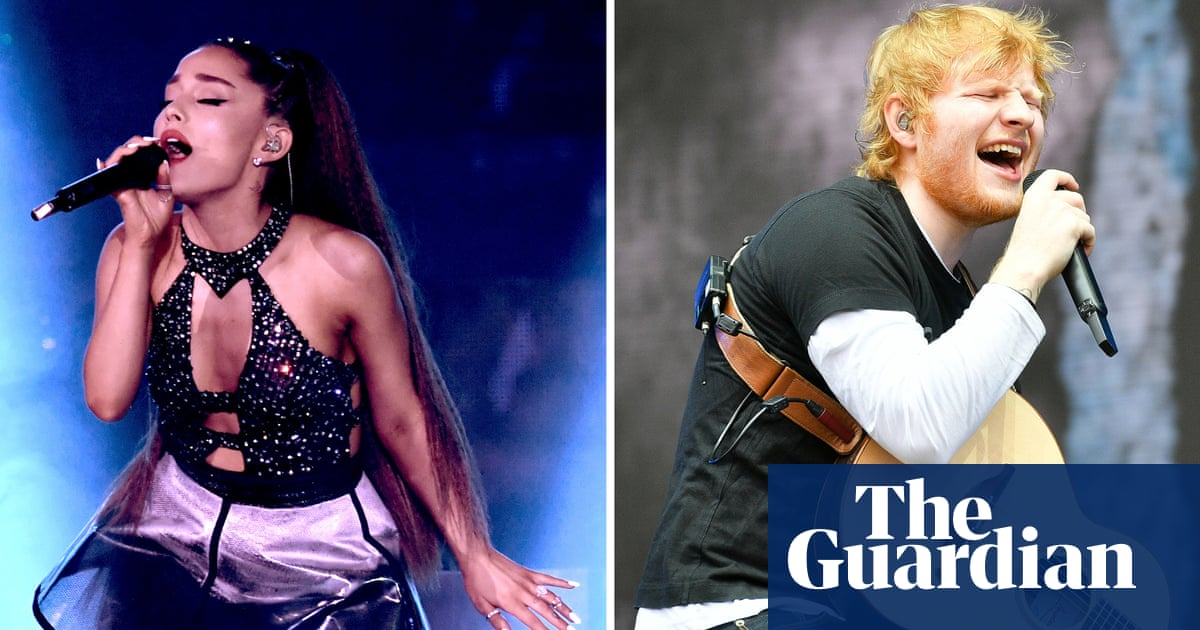 Pornographic' songs by Ed Sheeran and Ariana Grande banned in
