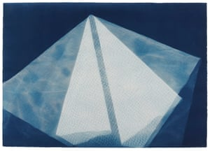 1974Photogenic Painting, Untitled 74/13 by Barbara Kasten.