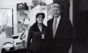Bill Clinton and Monica Lewinsky at the White House. Drudge's revelation that Newsweek pulled a report on the president's affair with an intern led to impeachment proceedings.