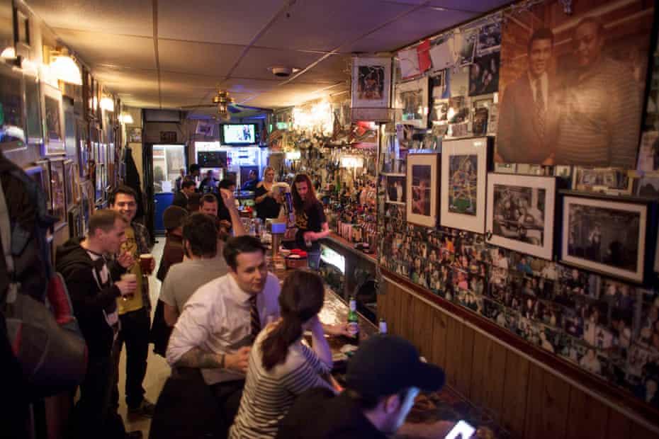 Jimmy's Corner, 2016, New York, N.Y.