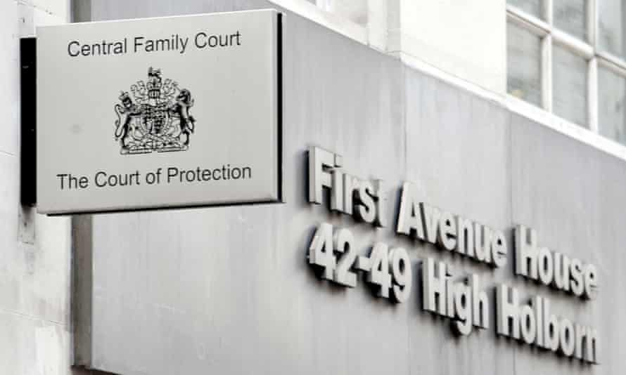 The court of protection and central family court in London.