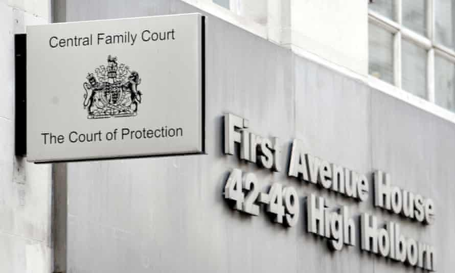 Family court in High Holborn, London.