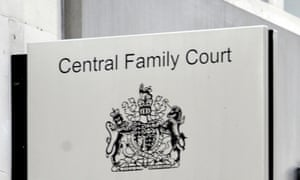 Central family court in High Holborn, London