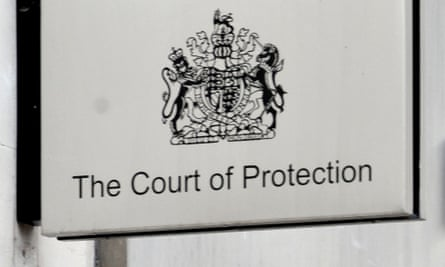 Court of protection in London
