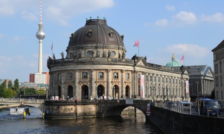 The Bode Museum on the Spree river.