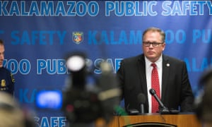 Kalamazoo county prosecutor Jeff Getting announced the charges Wednesday.