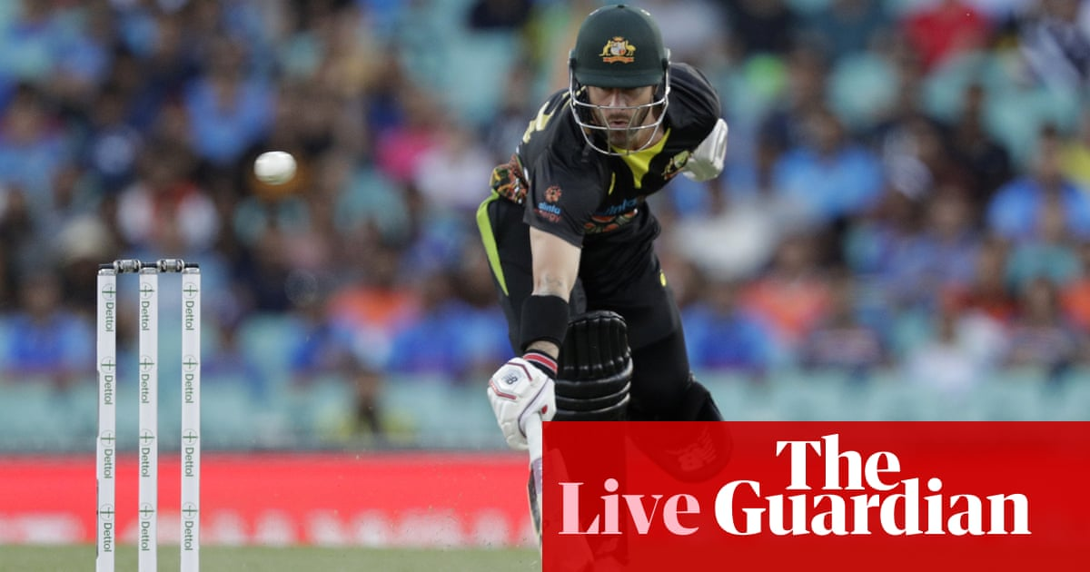 Australia v India: second T20 international – live! – The Guardian