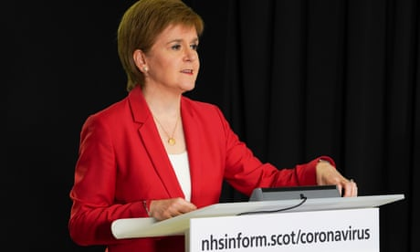 Nicola Sturgeon to ease coronavirus lockdown rules in Scotland
