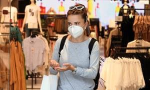 Shoppers must wear face coverings, but it will not be compulsory for shop or supermarket staff to wear them.