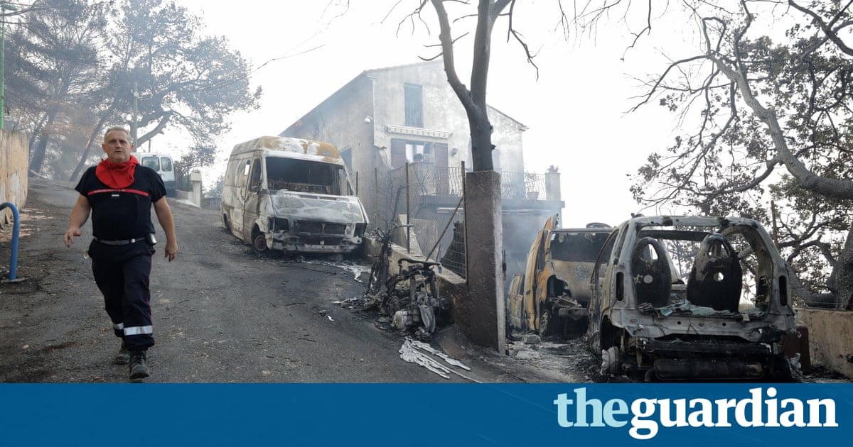 Two French teenagers in court on suspicion of causing wildfires