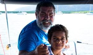 Murrumu Walubara and his son Thoyo.