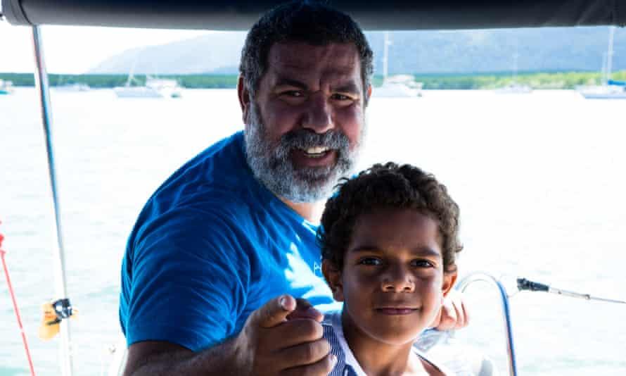 Murrumu Walubara with his son Thoyo,