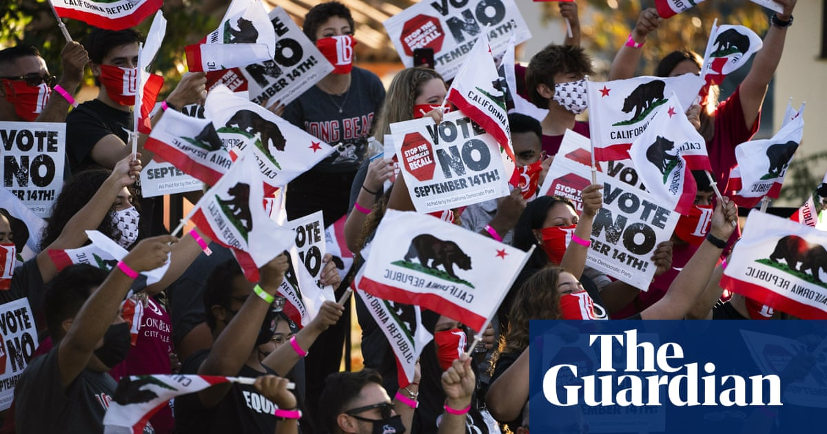 Gavin Newsom's political fate in balance as final votes cast in California recall