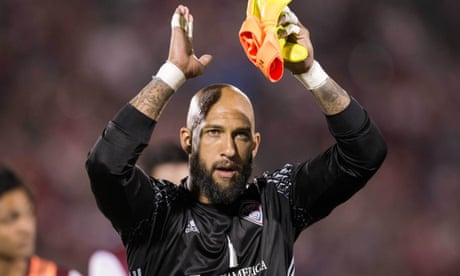 Tim Howard is an increasingly outdated frontman for MLS