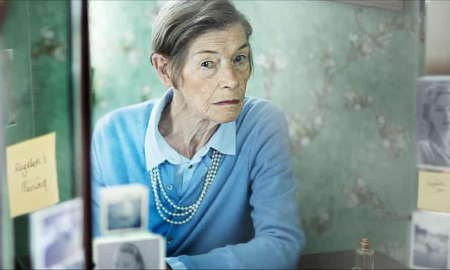 Glenda Jackson in Elizabeth Is Missing.