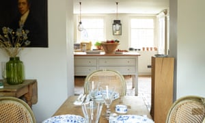 The basement kitchen for cosy suppers.