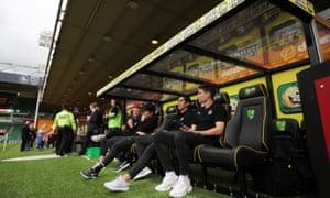 Norwich gegen Newcastle