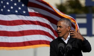Obama said: 'If we don't stop these kinds of efforts now, what are going to see is … a further de-legitimizing of our democracy.'