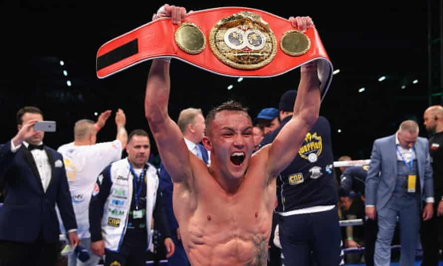 Josh Warrington won the IBF title in a split decision over Lee Selby in May.