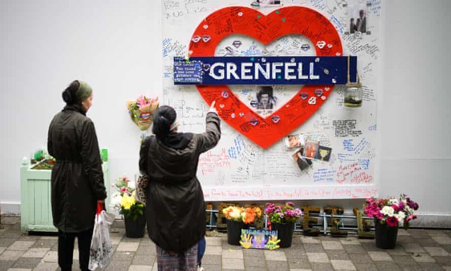 Grenfell tribute