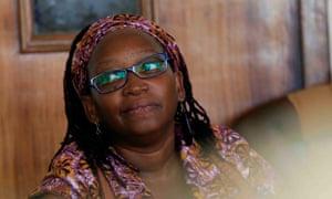 Resistance writer: Dr Stella Nyanzi speaks in court in Kampala on 1 August 2019