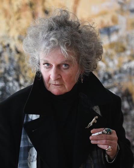 British artist, Maggi Hambling