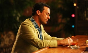In Mad Men, Don Draper was seldom seen without a drink.