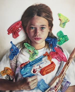 Toy Guns, Johan Andersson, 2016, Oil on canvas