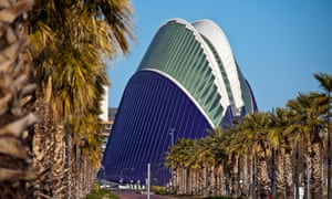 €1bn and counting … Valencia's City of Arts and Sciences.