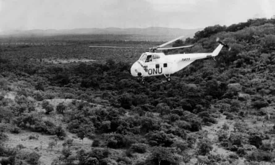 Congo helicopter