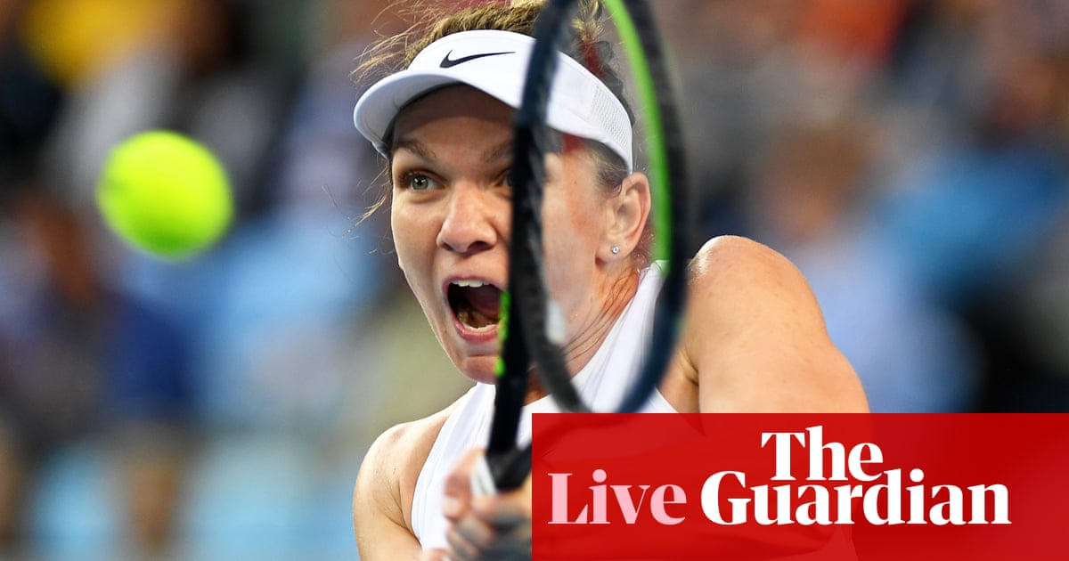 Australian Open: Dart v Halep, Kyrgios v Simon, and more –live!