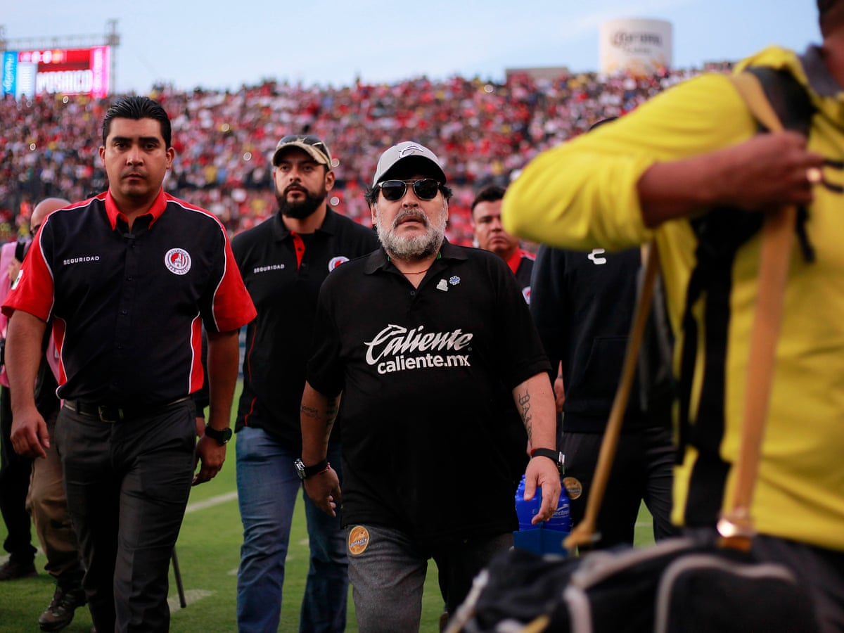 The Real Diego Maradona Comes To Life In Mexico In Captivating Series Ed Vulliamy Football The Guardian