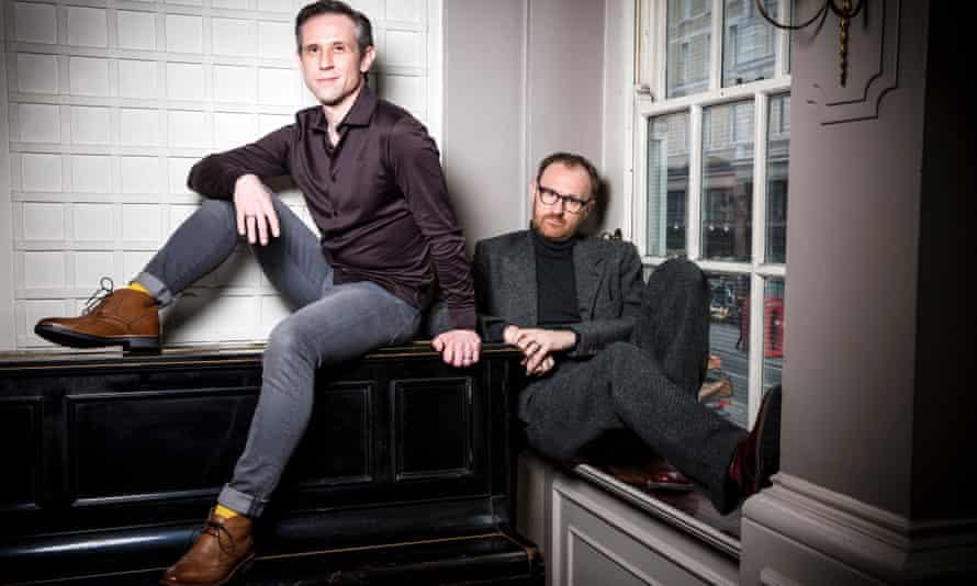 Ian Hallard and Mark Gatiss.