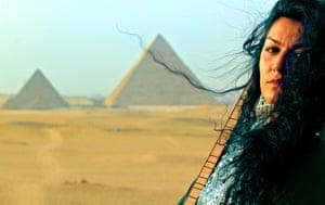 Nadin Al Khalidi in Egypt.