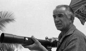David Douglas Duncan in Miami, Florida, April 1969.