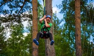 TrollAktiv Adventure Park, Evje, Norway